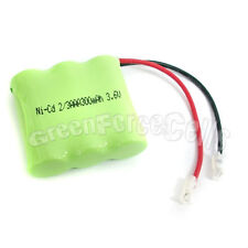 2 pcs Rechargeable Ni-CD 2/3 AAA 3.6V 300mAh Battery Pack Cell 404 For Phone