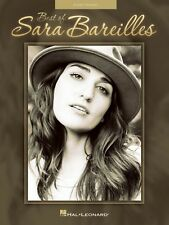 Best of Sara Bareilles Sheet Music Easy Piano Book NEW 000121676