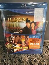 HERO & NEVER BACK DOWN BLURAY JET LI
