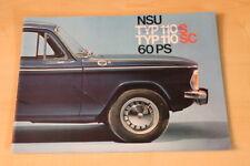 72724) NSU Typ 110 S SC Prospekt 196?