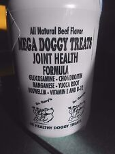 MEGA Doggy Treat Large Best  Breed Dog Glucosamine Chondroitin Beef & Liver USA
