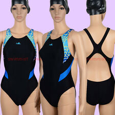 NWT YINGFA 946-1 COMPETITION TRAINING RACING SWIMSUIT L US MISS 6 Sz30 CLASSIC!!