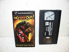 WWF In Your House No Way Out 1998 VHS Video WWE RARE Kane Undertaker The Rock
