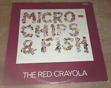 "THE RED CRAYOLA micro-chips & fish 1979 UK ROUGH TRADE 12"" 45 PS"
