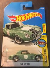 2017 Hot Wheels F Case Custom Super Fairlady 2000 with Good Year Real Riders