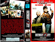 "VHS - "" Detroit CITY ( Collision Course ) "" (1989) - Pat Morita - Jay Leno"