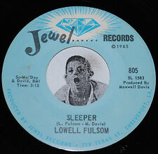 Blues Soul 45~LOWELL FULSOM~Sleeper / How Do You Want Your Man~Jewel