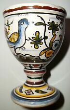 Portugal Egg Cup Estrela De Conimbriga Hand Painted