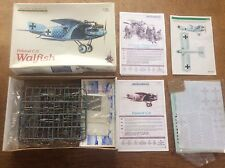 Eduard 1:48 scale Model Kit Ltd Ed Roland Cll Walfish German WWl Plane Personnel