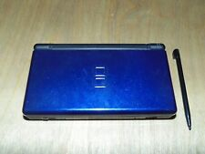 Nintendo DS Lite Launch Edition Cobalt and Black Handheld System *Broken Hinge*