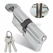 Home Office Security Sliding Screen Gate Door Cylinder Lock Hardware + 3 Keys