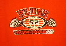 MONGOOSE PRO BICYCLES med T shirt Plugg beat-up tee BMX Bike extreme 1990s