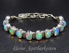 Armband * 925er Sterlingsilber * Äthiopische (WELO) Opale