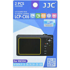 JJC LCP-CX6 LCD Guard Film For RICOH CX6 Digital camera 2 pieces cover protector