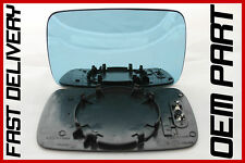 BMW 5 SERIES 525tds E39 1996-2003 DOOR WING MIRROR GLASS BLUE HEATED
