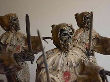Tombs of the blind dead figure signed, horror, mask, jason,freddy, Bust, Props