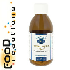 Biocare Prolactazyme Plus 90 - lactase caps with probiotics & digestive enzymes