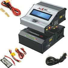 Hitec 61070 X1 Pro DC Multi-Charger & ePowerbox 17 Combo Lipo Nimh Nicd Life