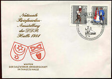 East Germany DDR 1984 National Stamp Exhibition FDC First Day Cover #C34566