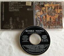 Rumble Militia - They Give You The Blessing CD 1990 CENTURY MEDIA deathrow