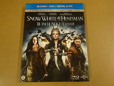 BLU-RAY + DVD / SNOW WHITE & THE HUNTSMAN ( KRISTEN STEWART )