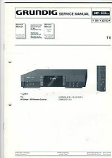 Grundig Service Anleitung Manual Receiver T 6   B405