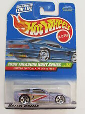 HOT WHEELS 1999  TREASURE HUNT LIMITED EDITION  '97 CORVETTE