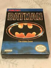 Nintendo BATMAN THE VIDEO GAME (NES, 1990) BRAND NEW FACTORY SEALED MINT & RARE!