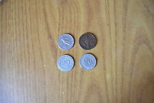 LOTTO 4 MONETE RARE 20 CENT 1920 ESAGONO 1919 D 10 1936 IMPERO 20 CENT 1995 ROMA