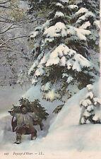 VOSGES 997 LL paysage d'hiver traineau schlitteur