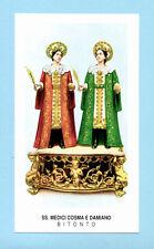 SANTINO S.S.MEDICI COSMA e DAMIANO   IMAGE PIEUSE - HOLY CARD SANTINI