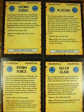 4 OOP Hombre O Guerra Celestial Magic Cartas (944)