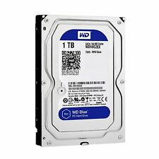 WD Blue 1TB Desktop Hard Disk Drive 7200 RPM SATA 6 Gb/s 64MB Cache 3.5 Inch New