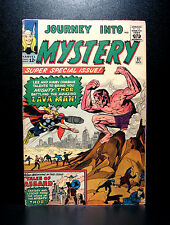 COMICS: Journey into Mystery: Thor #97 (1963), 1st Lava Man/Bor/Odin's origin