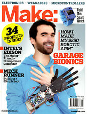 Make Magazine Vol. 43 February / March 2015 NEW DIY Electronics Wearables