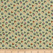 Cotton Fabric M is for Mystery Sage Marcus Brothers Quilting  BTHY