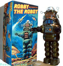 Billiken Robby the Robot Tin Toy Japan Windup