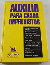 Selecciones del Reader's Digest Auxilio Para Casos Imprevistos Spanish Book