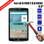 Anti-ExplosionTempered Glass Film Screen Protector Cover For LG G PAD Tablet