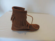 minnetonka moccasin size woman's 5 M suede brown ankle boots