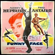 FUNNY FACE 1957 Huge US 6 Sheet RARE! Audrey Hepburn Fred Astaire filmartgallery