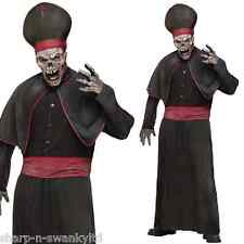 Mens Zombie High Priest Religious Halloween Fancy Dress Costume Outfit Medium