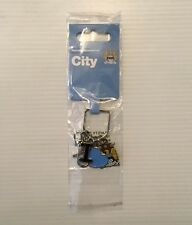 Manchester City FC I Love MCFC Keyring / Keychain Official Merchandise