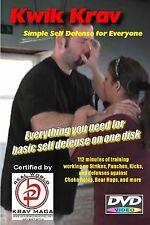"""""""EASY SELF DEFENSE"""" Krav Maga Basic training on one disk, DVD."""