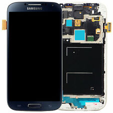 DISPLAY LCD + TOUCH SCREEN + FRAME per SAMSUNG GALAXY S4 i9505 SCHERMO NERO