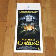 NON APRITE QUEL CANCELLO 2 locandina poster The Gate II Horror Zombie Takacs