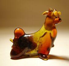 """Blown Glass """"Murano"""" Art Figurine Dog  YORKSHIRE Terrier"""