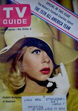 TV Guide 1964 Bewitched Elizabeth Montgomery #609 VTG Lauren Bacall The Rifleman