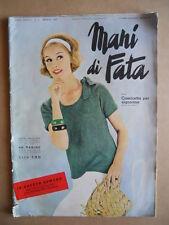 MANI DI FATA n°5 1963 con cartamodelli  [C59]