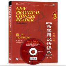 New Practical Chinese Reader Textbook 3 Chinese text book in English with MP3